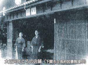 菊谷茂吉商店対象元年頃の商店