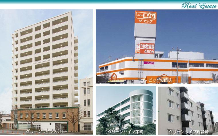 キクタニグループの不動産賃貸・開発事業
