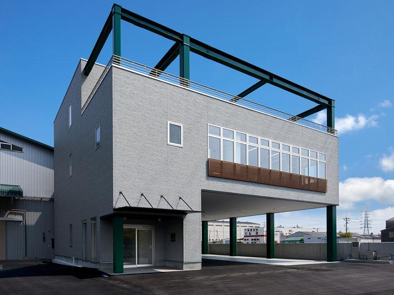 令和2年完成の菊谷茂吉商店新社屋